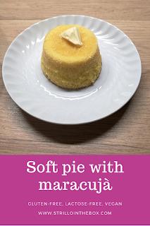 torta maracujà vegan ricetta