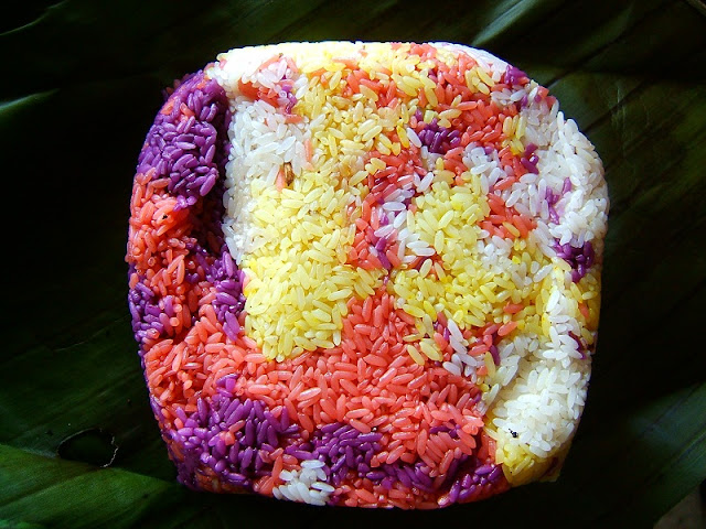 Seven- Color Steamed Glutinous Rice