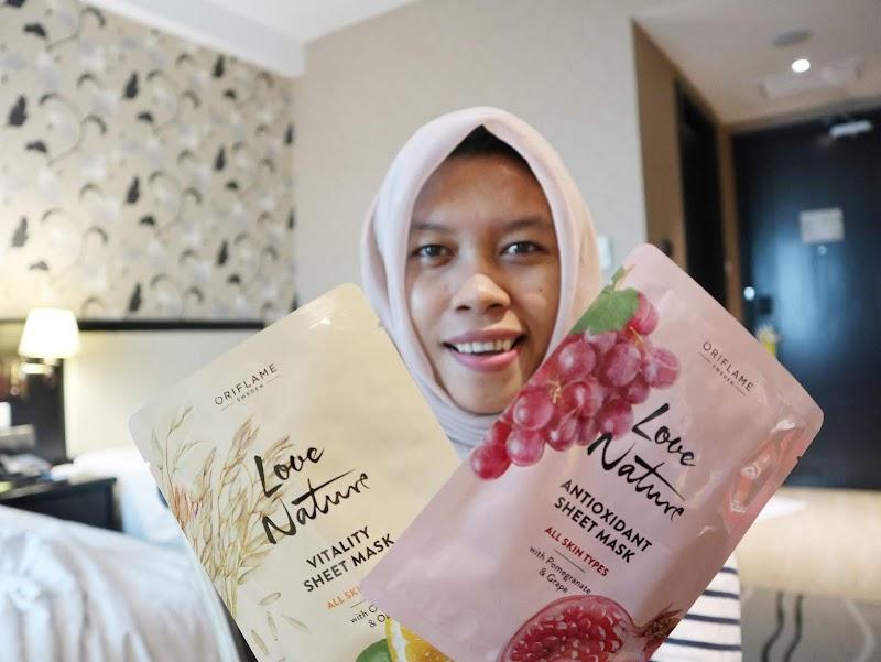 Review Masker Oriflame Love Nature, Rahasia Wajah Bersih Saat Travelling