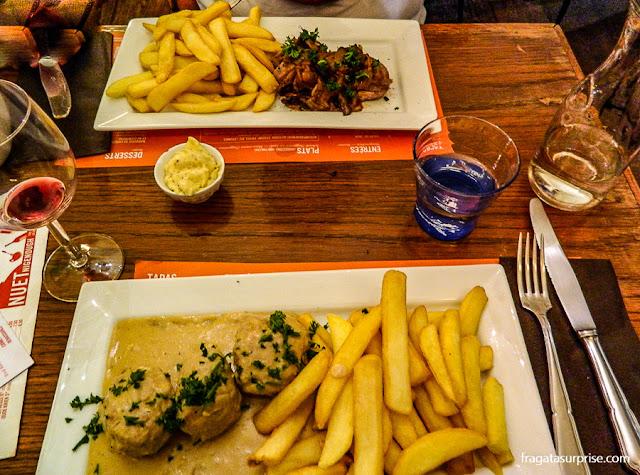 Restaurante em Bruxelas: Nuet Nigenough