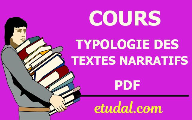 cours typologie des textes narratifs s1