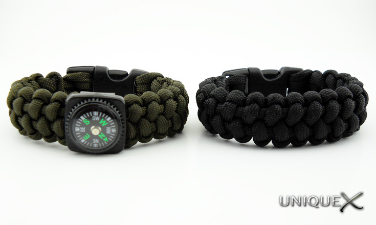 Unique Ropecraft: Stitched Solomon Bar Bracelets