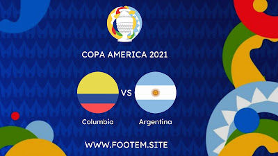 Colombia vs Argentina footem