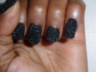 Black Beaded Nails, DIY Beaded Nails at Home