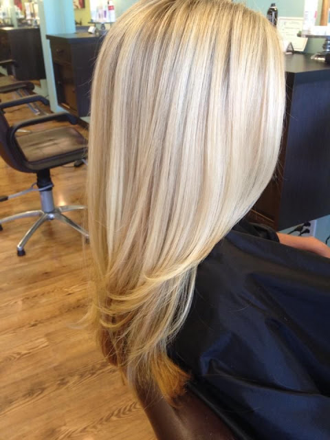 #2 Blonde hair color shade