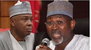 Saraki Slams Jega Over His Unfairness Remarks That Senators & House Rep Members Are Bribe Takers , Asks Him To Name Them