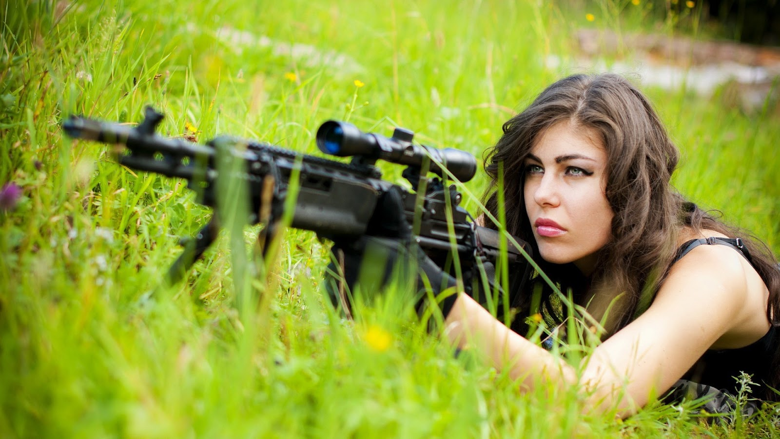 women army sniper wallpaper - photo #14