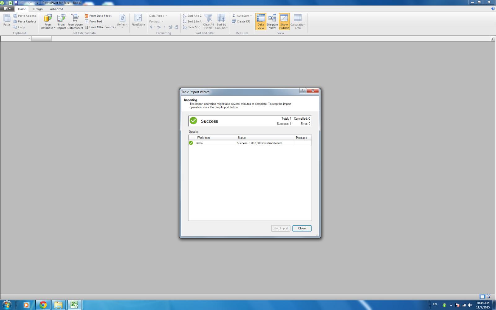 Experiencing of Microsoft Excel Power Pivot | VelocityOn