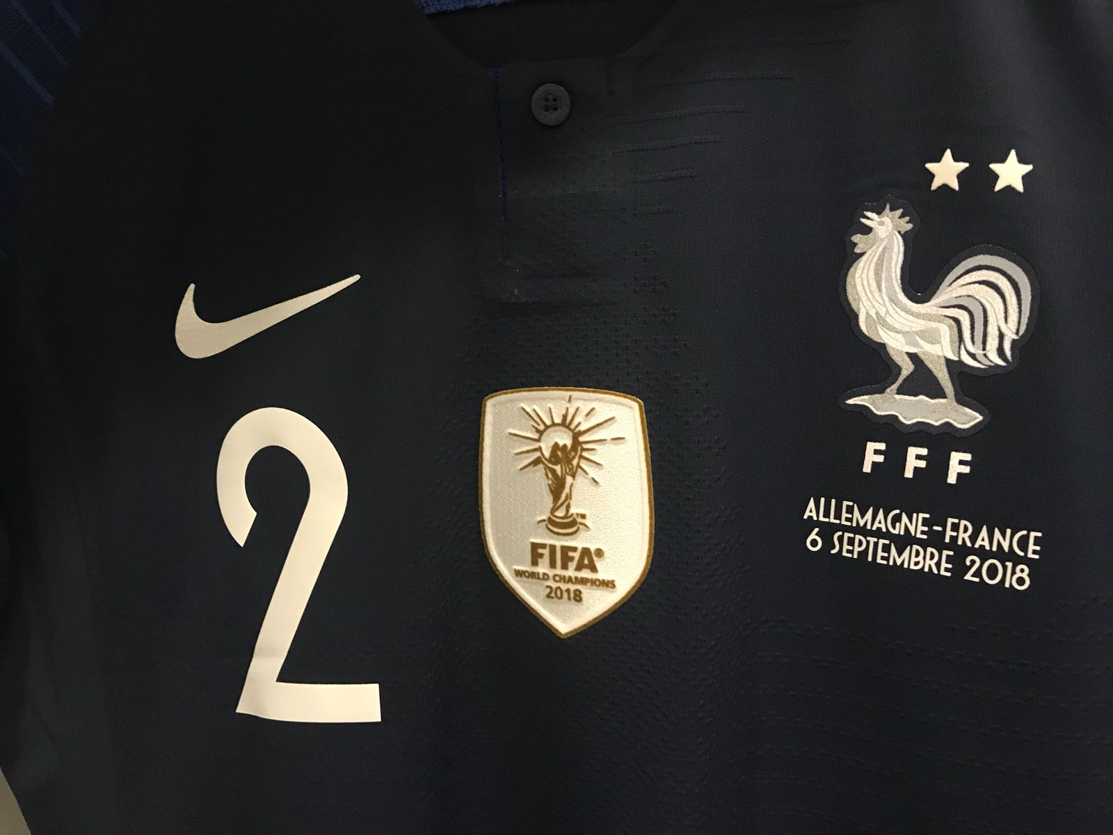 new products 8433b ee69e Is Nike Not Allowed To Sale France 2-Star Jersey With World ...