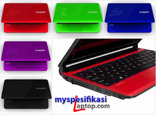 Spesifikasi Harga Netbook Axioo Pico CJM D825
