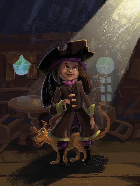 character illustration by Traci Van Wagoner