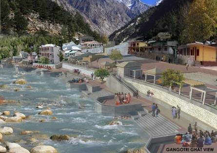 Gangotri-Bathing-Ghat-Design-View