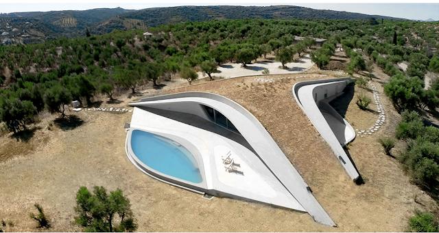 Υποψήφια ως η εντυπωσιακότερη κατοικία παγκοσμίως η βίλα «Ypsilon» στην Πελοπόννησο (βίντεο)
