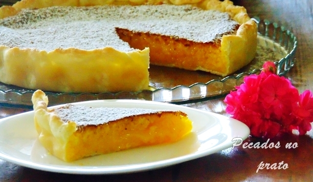 Receita da tarte de coco cremosa facil e economica