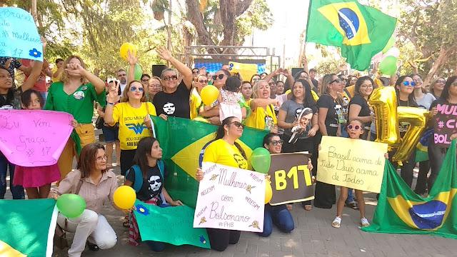 Resultado de imagem para palestra com Bolsonaro em Parnaíba PI