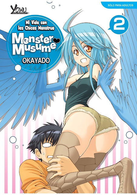 "Reseña de ""Monster Musume"" (モンスター娘のいる日常) vol.2. +18 @YowuEnt"