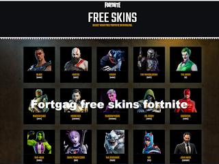 Fortgag free skins fortnite from fortgag.com
