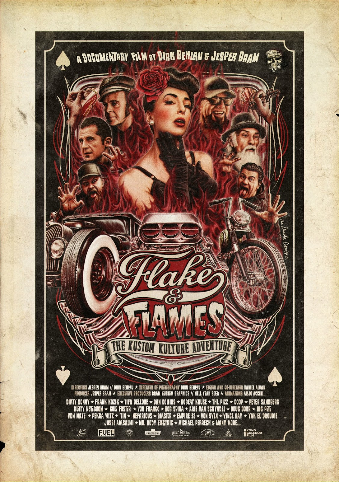 flake and flames - the kustom kulture adventure
