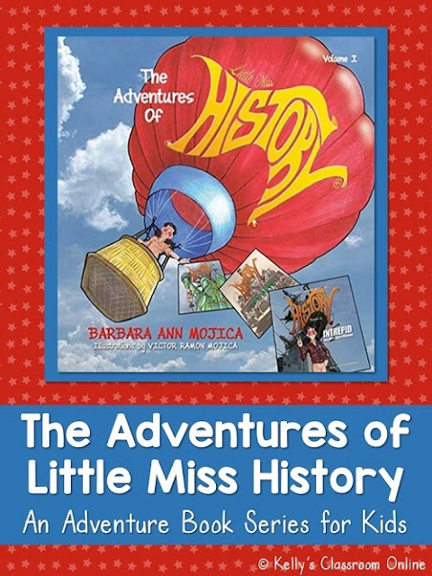 Learn about the children's book series The Adventures of Little Miss History by Barbara Ann Mojica. Books include Battleship Iowa and Mount Vernon.
