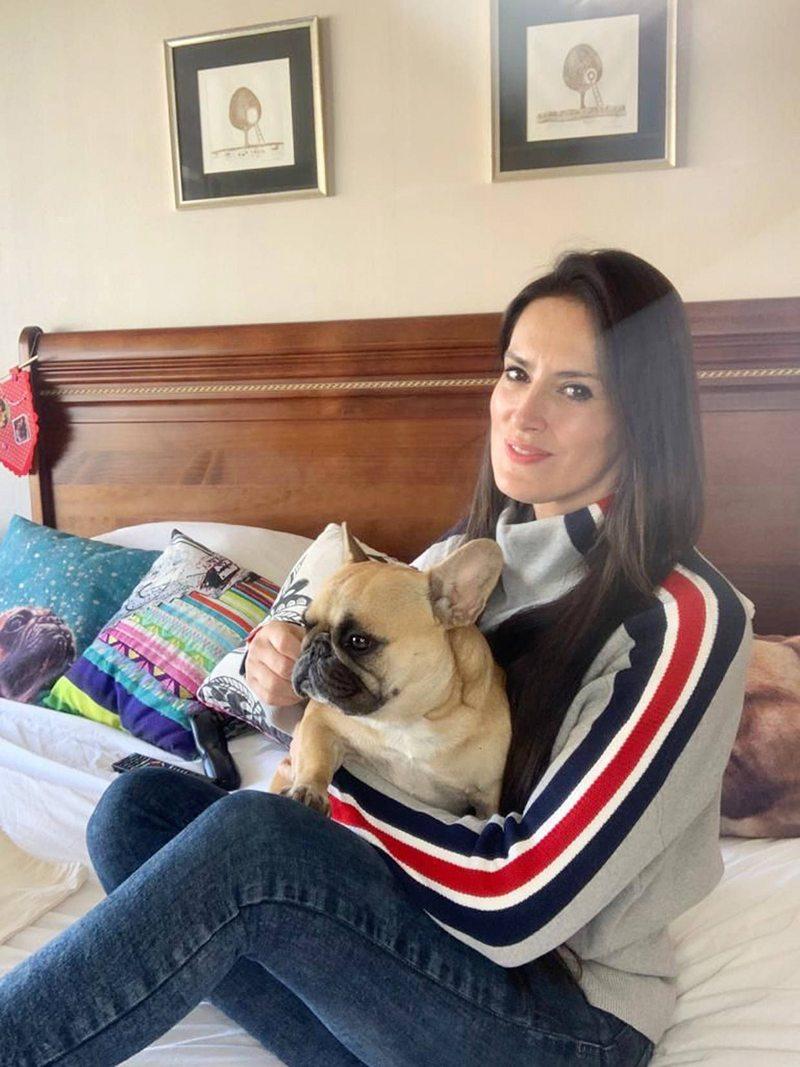 Adriana Barrientos subió 7 kilos en cuarentena