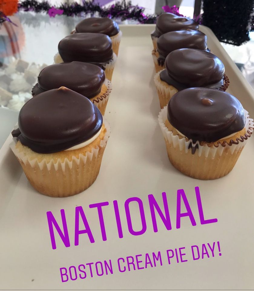 National Boston Cream Pie Day Wishes Awesome Images, Pictures, Photos, Wallpapers