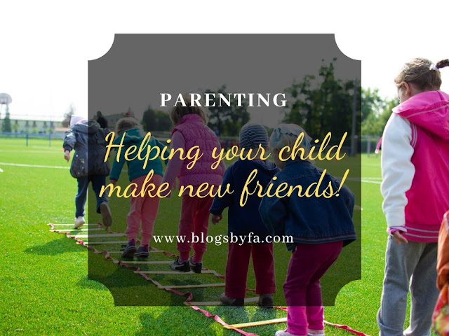 Helping Your Child Make New Friends