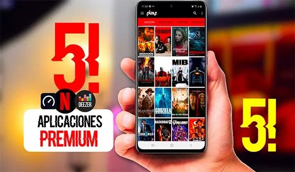 Aplicaciones PROHIBIDAS Mas Buscadas apps PREMIUM