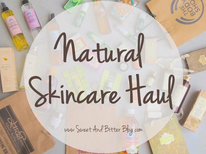 Natural Skincare Haul Shopping India