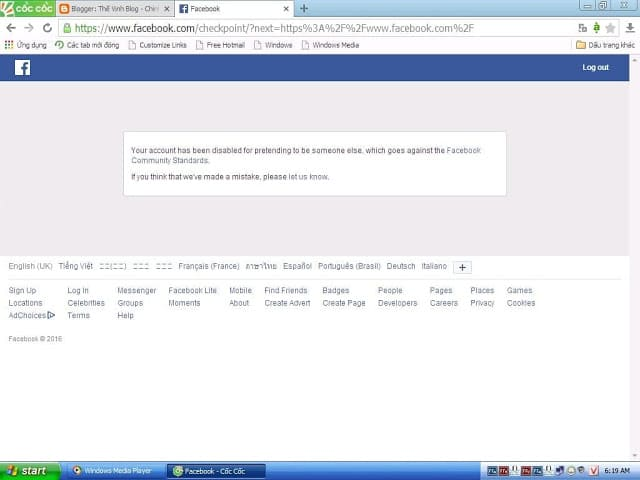 Tut report faq md, tut rip mặc định mạo danh, hướng dẫn cách report ních facebook FAQ mạo danh