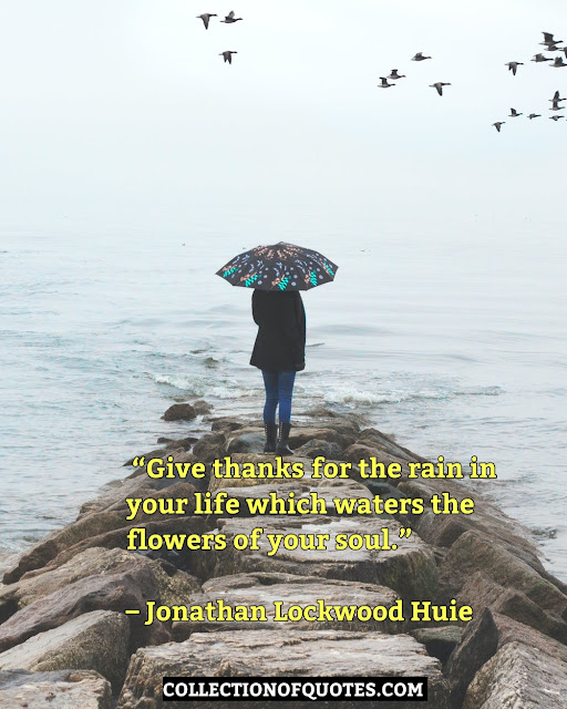 happy rainy day quotes