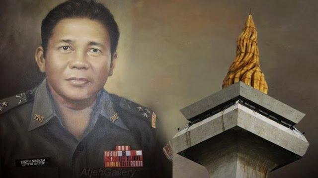 Teuku Markam Penyumbang 38 Kg Emas untuk Monas, Dituduh PKI hingga Berakhir Menyedihkan