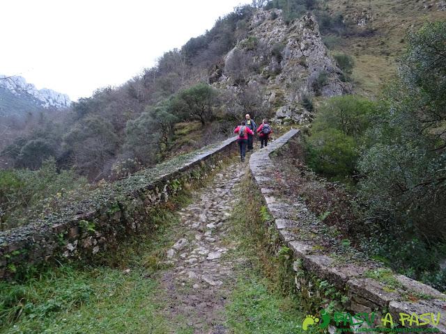 Atravesando Puente La Vidre