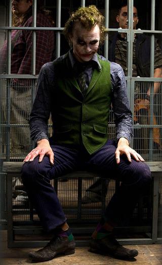 Heath Ledger fue el Joker en Dark Knight 2008