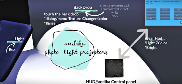andika GG[andika light projectors Tool]