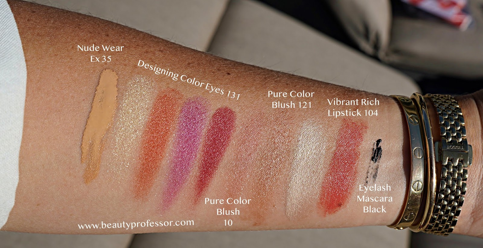 SUQQU Pre-Summer 2020 Collection swatches