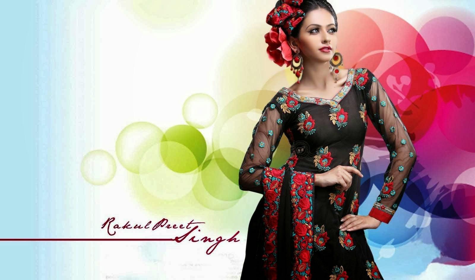 Rakul Preet Singh Hot HD Wallpaper 2014 Free Download