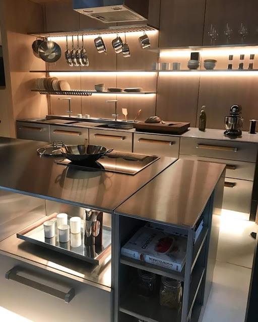 صور لتصاميم متنوعة لمطابخ مميزة تستحق رؤيتك لها