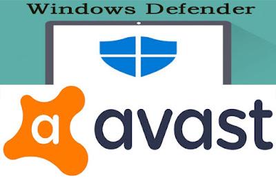 Windows Defender dan Avast - mana yang lebih baik?