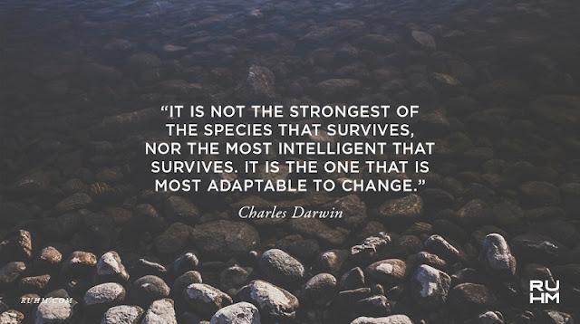 Darwin-Most-adaptable-survives
