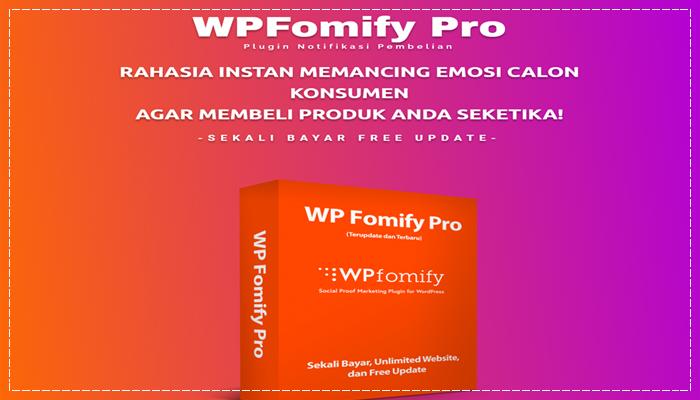 Plugin WP Fomify Pro