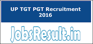 UP TGT PGT Recruitment 2016