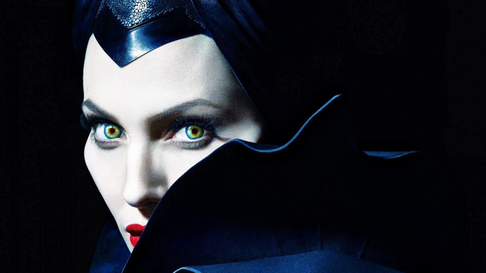 Angelina Jolie's Look in Maleficent