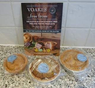 Voakes Free From gluten and wheat free pies
