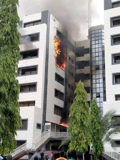 Accountant General calls Nigerians a fool as Nigerians insists that fire outbreak is a means to cover up for the stolen money