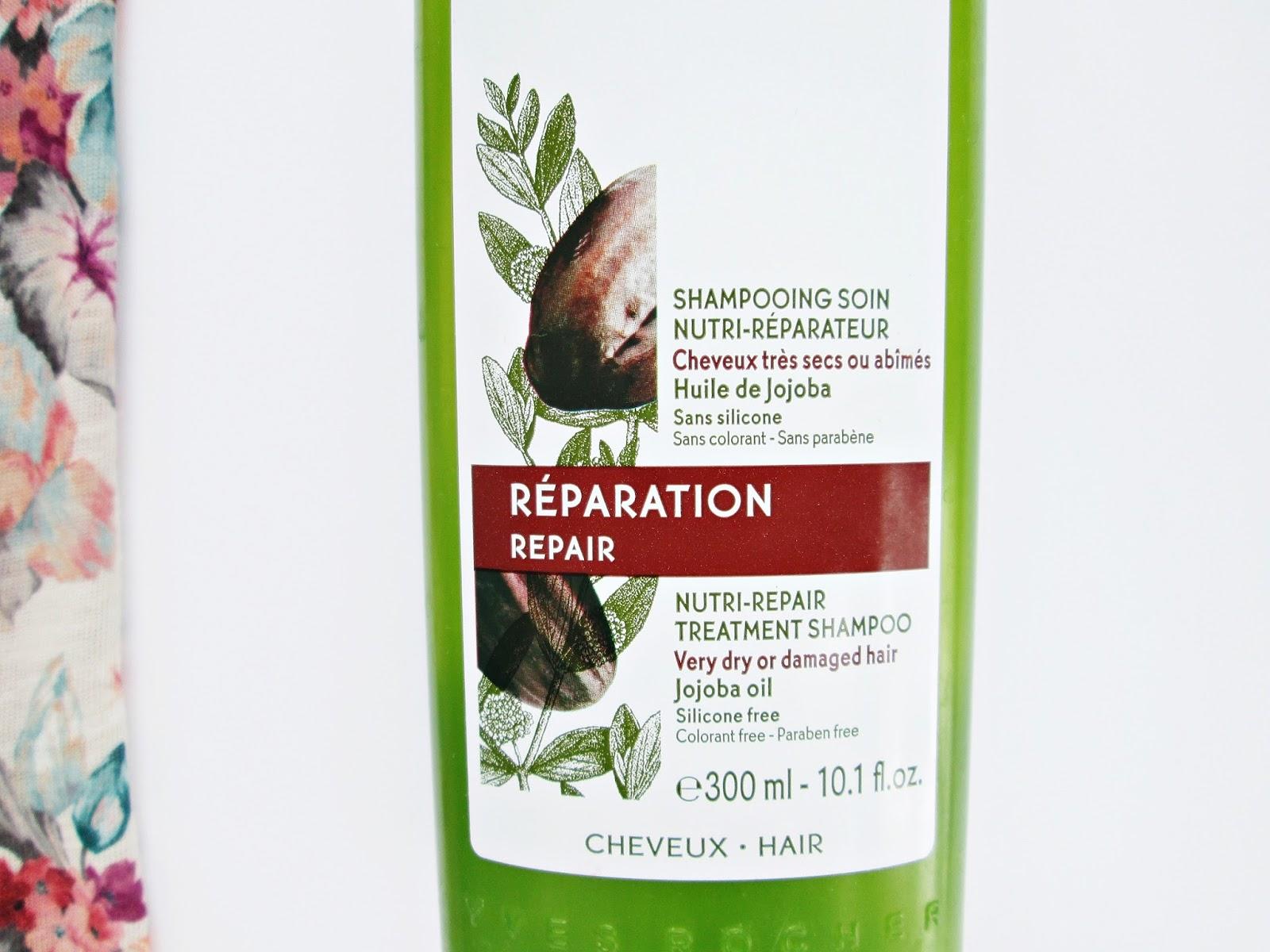 Yves Rocher Nutri - Repair Treatment Shampoo