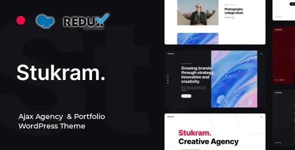 Best AJAX Agency & Portfolio WordPress Theme