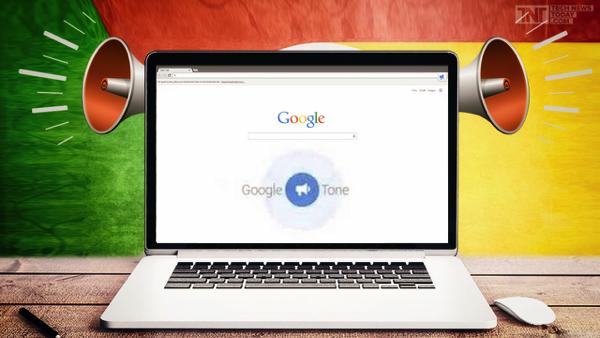 شيئ رائع يمكنك القيام به  بإستعمال ميكروفون و سماعات الحاسوب مع  شركة جوجل google tone