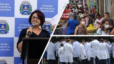 """Garantir empregos e salvar vidas na pandemia: Ver. Sandra quer a criação de """"Brigadas de Saúde"""""""