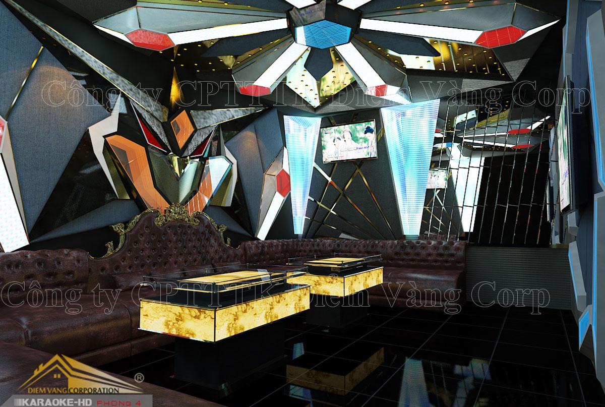 Thiết kế phòng karaoke 3D Ảnh Full chất lượng cao 38