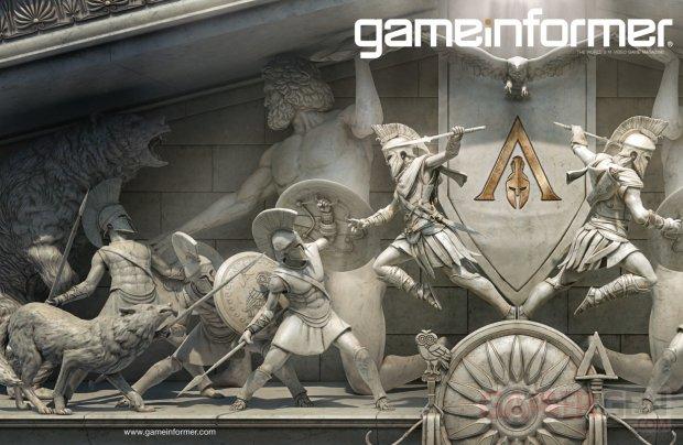 مجلة Game Informer تعلن عن تغطية خاصة طيلة هذا الشهر للعبة Assassin's Creed Odyssey و معلومات رهيبة قادمة ..